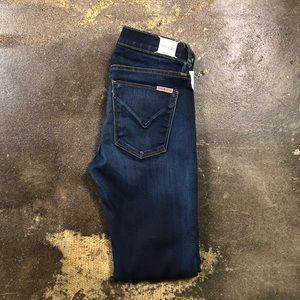 Hudson Super Skinny Jeans 25 Krista Dark Wash 0